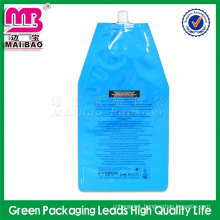 100% new material disposable beverage bags with spout